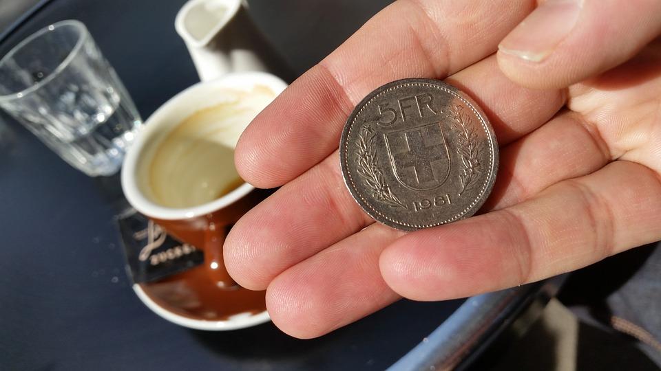 5 francos suizos