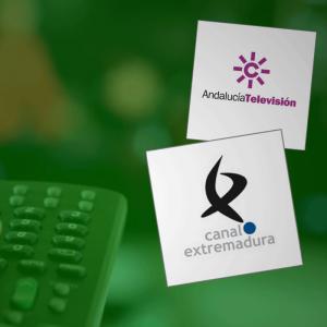 Andalucía Televisión y Canal Extremadura
