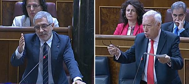 Llamazares y Margallo