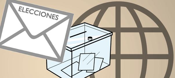 Voto exterior urna