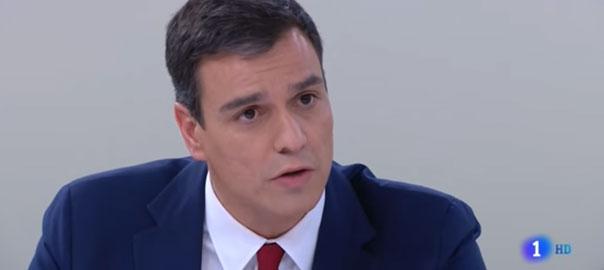 Sánchez debate del voto rogado con Rajoy