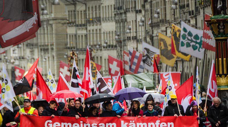 Fiesta del 1 de Mayo en Berna