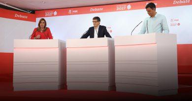 ¿Qué proponen al exterior los tres candidatos del PSOE?