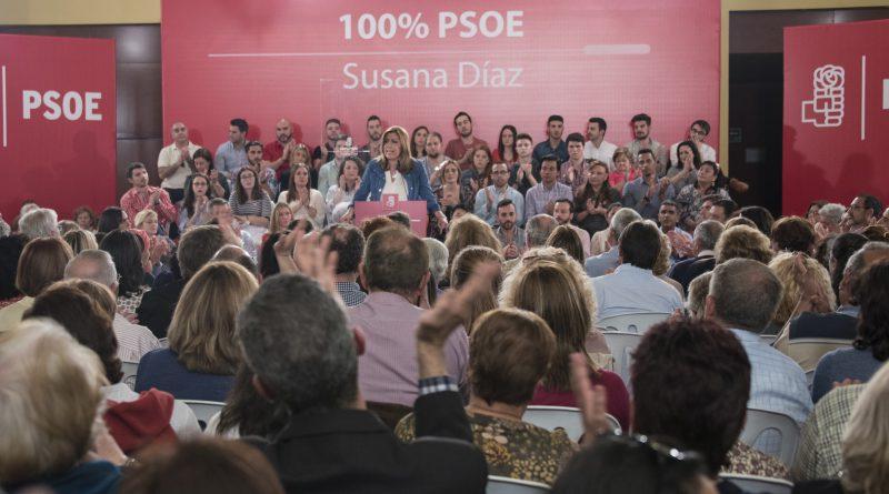 Susana Díaz, 100% PSOE