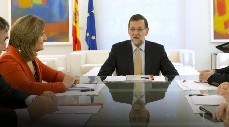 Mariano Rajoy y Fátima Bánez en la Moncloa