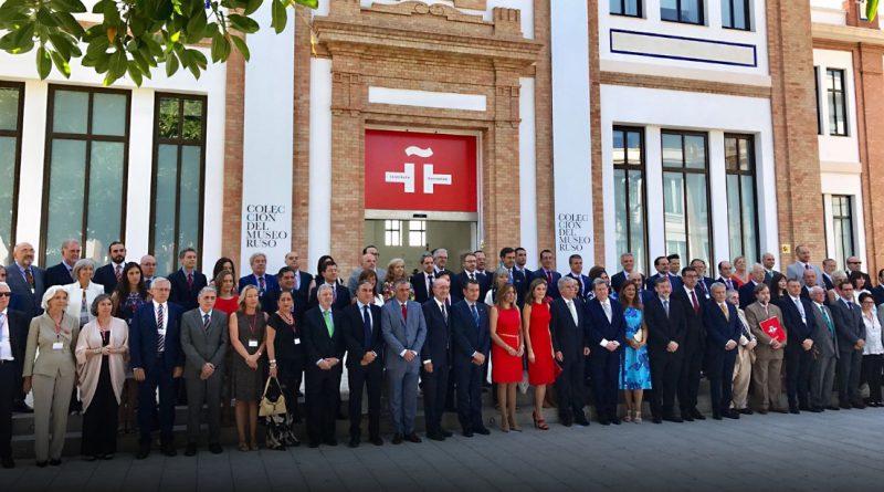 Reunión en Málaga de directores del Cervantes