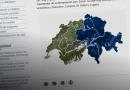 El extraño mapa de Suiza del consulado de Zúrich