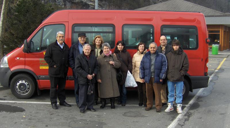 Viaje del 2010 del Ticino a Zúrich