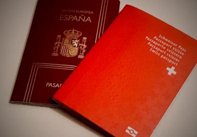Los españoles, los que más suben en obtención del pasaporte suizo
