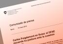 Comunicado de Suiza sobre Puigdemont