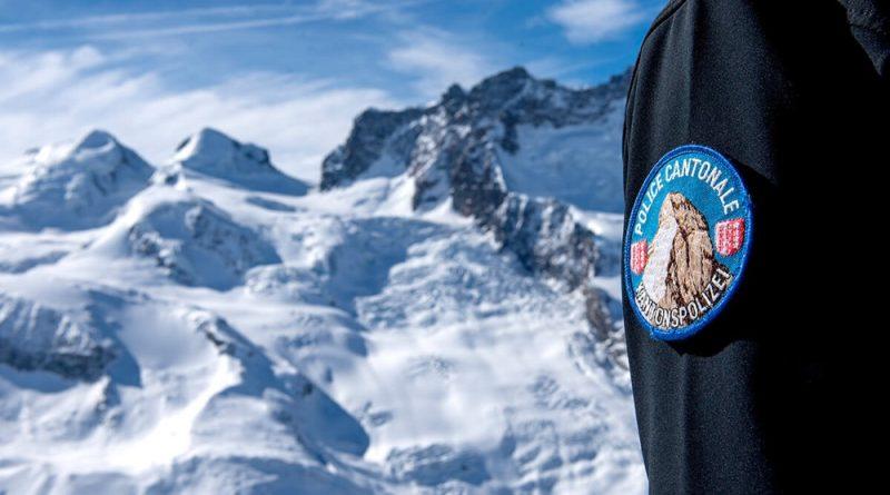 Policía de montaña del Valais