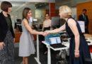 La Reina visitó en Ginebra la organización contra el cáncer