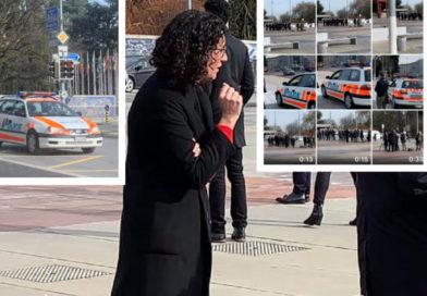 La policía suiza impide una manifa ilegal de Marta Rovira