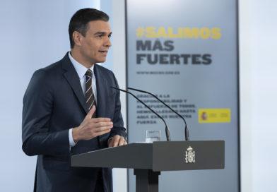 España reabre fronteras el 21 de junio y pide responsabilidad individual