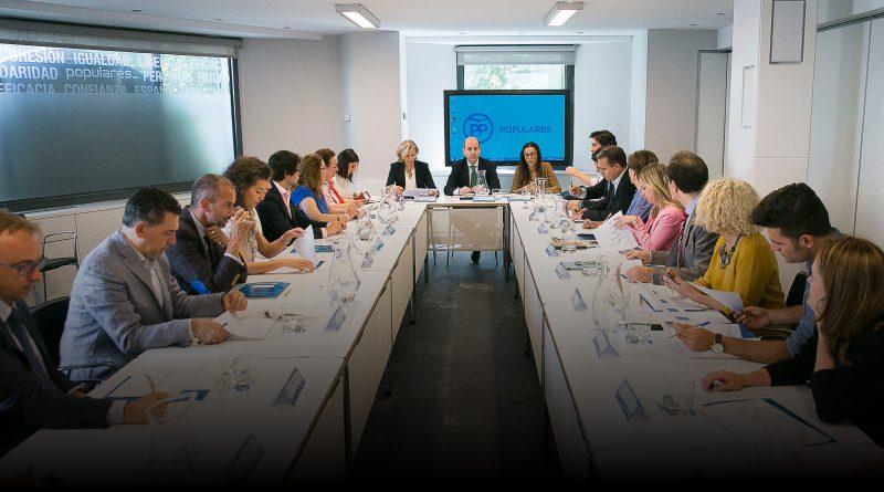 Reunión responsables del PP sobre españoles en el exterior