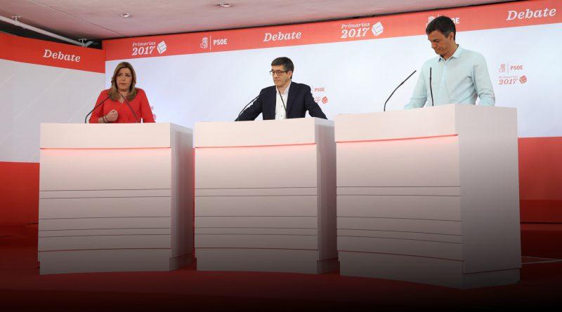 Debate primarias PSOE 2017