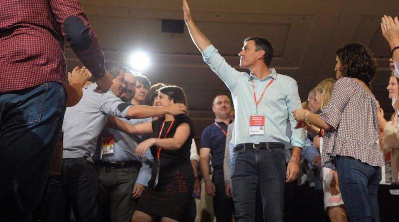 Pedro Sánchez en 39 Congreso PSOE