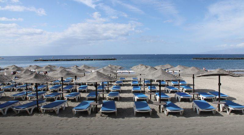 Playa en Tenerife, Canarias