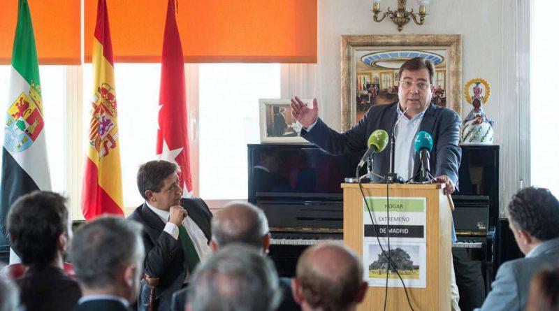 Guillermo Fernández Vara pide un tren digno para Extremadura