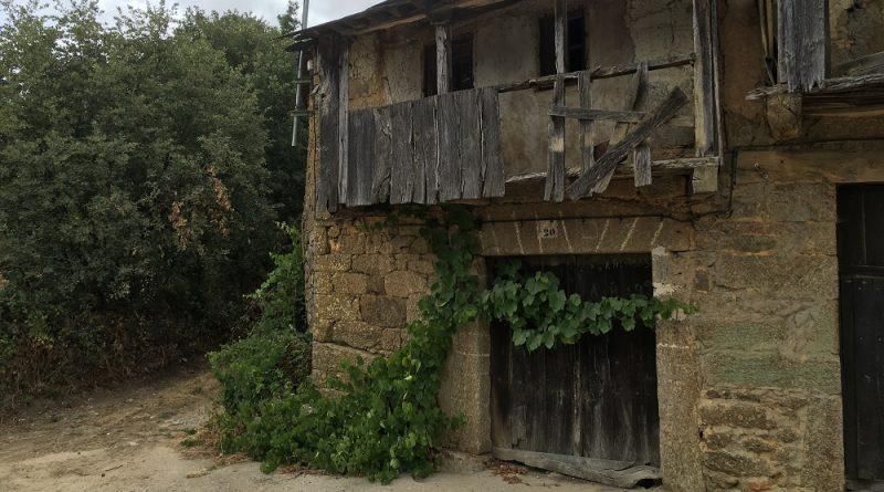 Pueblo de Anta de Rioconejos, provincia de Zamora