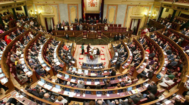 Congreso de los Diputados, sesión constitutiva IX